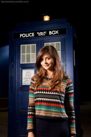 Doctor Who: Jenna-Louise Coleman in una prima foto ufficiale per la serie britannica