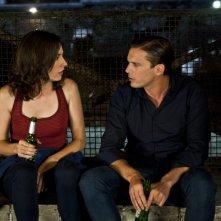 Good as You: Daniela Virgilio con Enrico Silvestrin in una scena del film