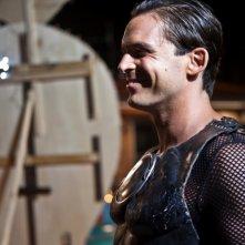 Good as You: Enrico Silvestrin sorride sul set del film