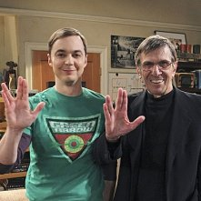 The Big Bang Theory: l'atteso incontro tra Jim Parsons e Leonard Nimoy sul set dell'episodio The Transporter Malfunction