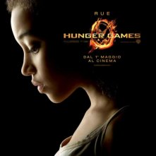 Hunger Games: character poster italiano per Rue/Amandla Stenberg