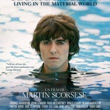 George Harrison: Living in the Material World, la locandina italiana del film