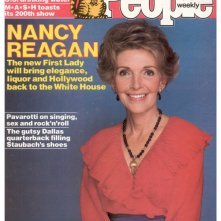 Nancy Reagan sulla cover di People, nel 1980