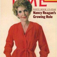 Nancy Reagan sulla cover di Time, nell'85