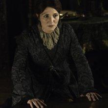 Game of Thrones: Michelle Fairley in una scena della stagione 2
