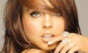 Lindsay Lohan e Whoopi Goldberg in Glee
