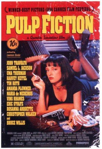 Pulp Fiction: poster originale USA