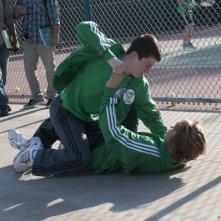 Awake: Dylan Minnette in una scena dell'episodio Kate is Enough