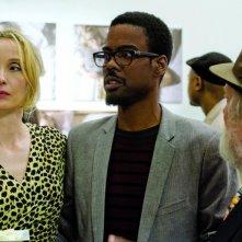 Chris Rock con Julie e Albert Delpy (di spalle) in 2 Days in New York