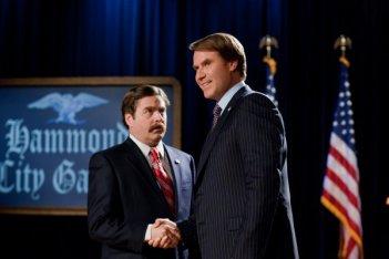 Ecco Zach Galifianakis e Will Ferrell nella prima immagine di The Campaign