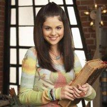 Selena Gomez sul set della serie I Maghi di Waverly