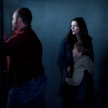 The Killing: Brent Sexton, Jamie Anne Allman e Seth Isaac Johnson nell'episodio Reflections