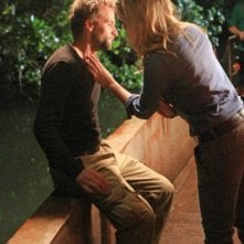The River: Joe Anderson con Eloise Mumford nell'episodio Row, Row, Row Your Boat