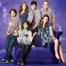 Una foto promozionale per il cast della serie I Maghi di Waverly