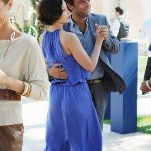 Adriano Giannini e Ashley Judd nell'episodio Ice Queen della serie Missing