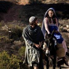 Alissa Jung e Luca Marinelli sono Maria e Giuseppe nella fiction Maria di Nazaret