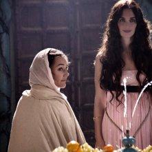 Alissa Jung e Paz Vega nella fiction Maria di Nazareth
