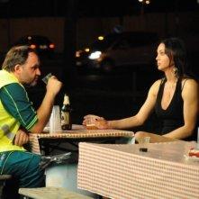 Amore liquido: Stefano Fregni in una scena del film con la trans Ramona
