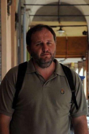 Amore liquido: Stefano Fregni sul set del film