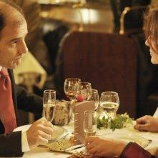 Ciliegine: Laura Morante e Frédéric Pierrot a cena insieme in una scena del film