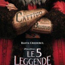 Le 5 leggende: il teaser poster italiano del film