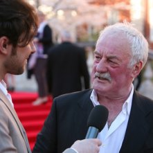 Titanic in 3D: Bernard Hill intervistato sul red carpet della Royal Albert Hall di Londra in occasione della premiere di Titanic 3D