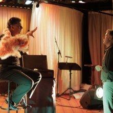 Benvenuti a bordo: Franck Dubosc e Philippe Lellouche in una scena della commedia francese