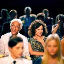 Benvenuto a bordo: Gérard Darmon con Valérie Lemercier in una scena del film