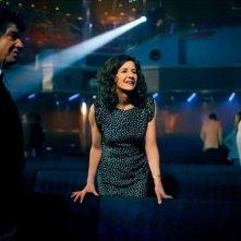 Benvenuto a bordo: Lionnel Astier con Valérie Lemercier in una scena del film