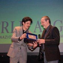 Enzo De Camillis Alex Pascoli ai Nastri d'Argento 2011