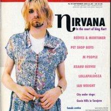Kurt Cobain sulla cover di The Face