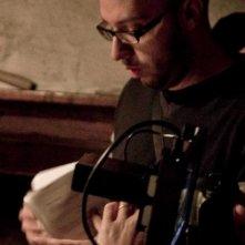 La casa nel vento dei morti: il regista Francesco Campanini sul set del film