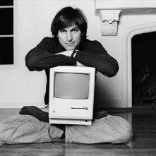 Un giovane Steve Jobs