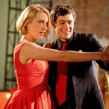 Greta Gerwig con Adam Brody in Damsels in Distress