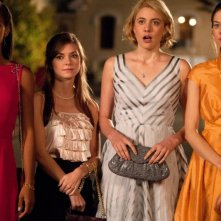 Greta Gerwig, Megalyn Echikunwoke, Carrie MacLemore e Analeigh Tipton in Damsels in Distress