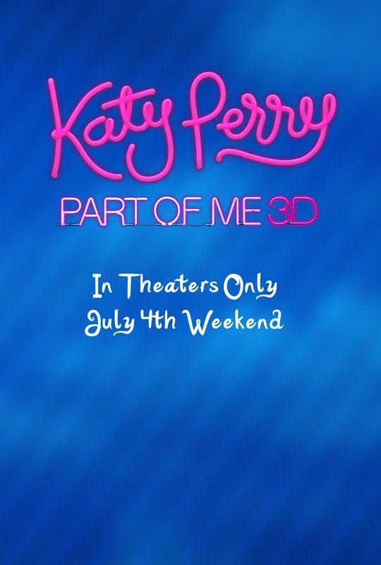 Katy Perry Part Of Me La Locandina Del Film 236606