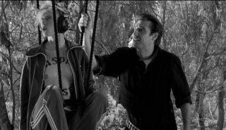La leggenda di Kaspar Hauser: Fabrizio Gifuni e Silvia Calderoni in una scena del film