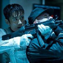 Lee Byung-hun nei panni di Storm Shadow in azione in G.I. Joe: La vendetta