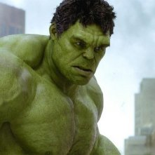 L'incredibile Hulk, alias Mark Ruffalo, in un'immagine di the Avengers