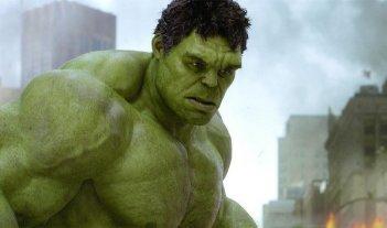 L'incredibile Hulk, alias Mark Ruffalo, in un'immagine di the Avengers