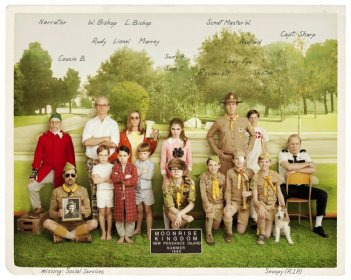 Moonrise Kingdom: foto ricordo con l'intero cast