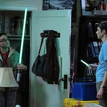 The Big Bang Theory: Johnny Galecki e Jim Parsons nell'episodio The Friendship Contraction