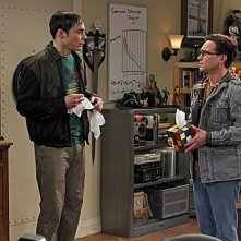 The Big Bang Theory: Johnny Galecki e Jim Parsons nell'episodio The Rhinitis Revelation