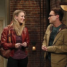 The Big Bang Theory: Johnny Galecki e Kaley Cuoco nell'episodio The Beta Test Initiation
