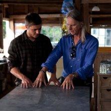 Ho cercato il tuo nome: Zac Efron insieme al regista Scott Hicks sul set del film