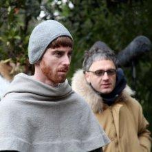 Sul set di Duns Scoto: il protagonista ADRIANO BRAIDOTTI e il regista FERNANDO MURACA