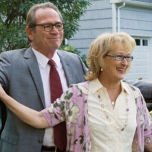 Tommy Lee Jones e Mery Streep in una scena di Great Hope Springs