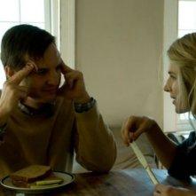 Brit Marling a tavola con William Mapother in una scena di Another Heart