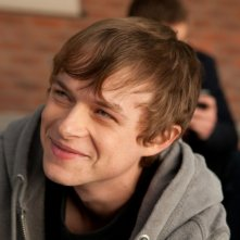 Chronicle: Dane DeHaan sorride in una scena del film