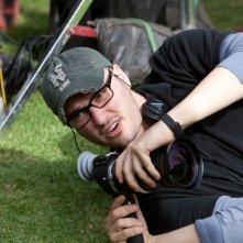 Chronicle: il regista del film Josh Trank sul set